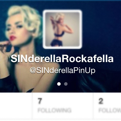On twitter? Follow me @SINderellaPinUp