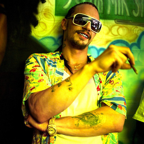 James Franco stars in new Spring Breakers clip: watch now Spring Breakers has released a new clip online, starring James Franco as a gun-toting, cornrow-sporting drug dealer with a southern drawl as thick as treacle…