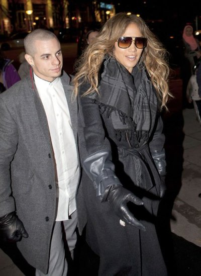 Jennifer Lopez + her man, Casper Smart in Denmark…