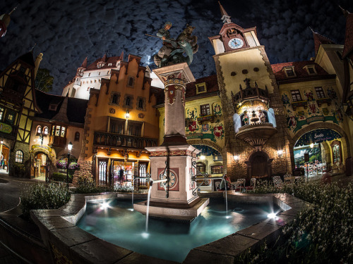 randomwdw:  Blue Moon Over Germany by Brett Kiger on Flickr.