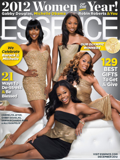 "Essence Magazine ""Women of the Year"" Issue [Dec 2012]"