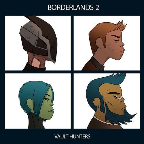 insanelygaming:  Borderlands 2 - Vault Hunters Created by ruusuvesi