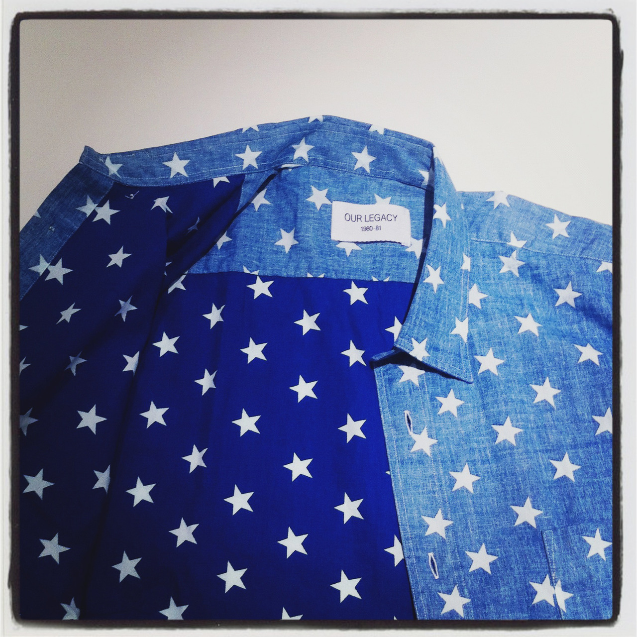 We can't get enough of Our Legacy's star-print shirt. BUY at: http://bit.ly/R93ueW or SHOP all patterned shirts at: http://bit.ly/SnBbrT