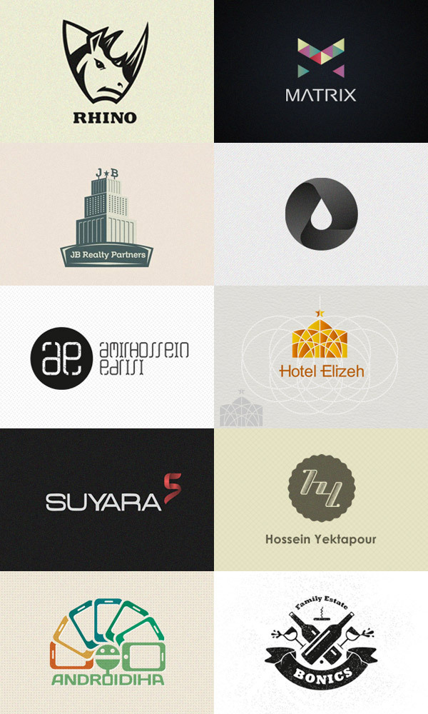 weandthecolor:  Logo Design Inspiration I recently came across the Dribbble portfolio of Hossein Yektapour, an Iran based graphic design. His graphics and logo designs are amazing. via WE AND THE COLORFacebook // Twitter // Google+ // Pinterest  Identity: various logos