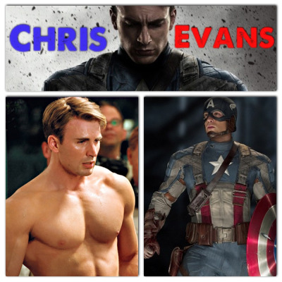 My oh my! Why do you have to be so freakin' hot Captain America :) *drool*