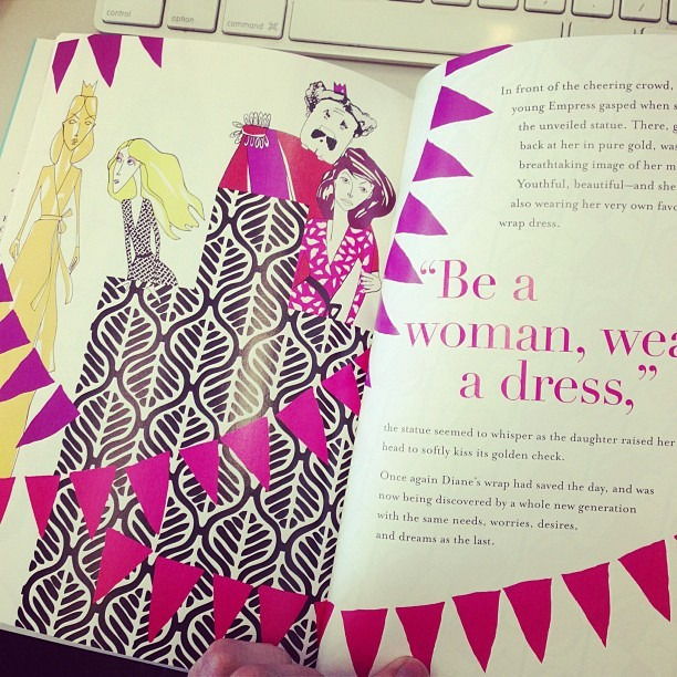 "elle:  A ""fashion fairy tale memoir"" from the always amazing @DVF  Love fashion"
