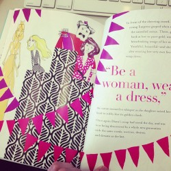"elle:  A ""fashion fairy tale memoir"" from the always amazing @DVF"