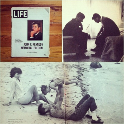 life:  More LIFE photos of JFK here.