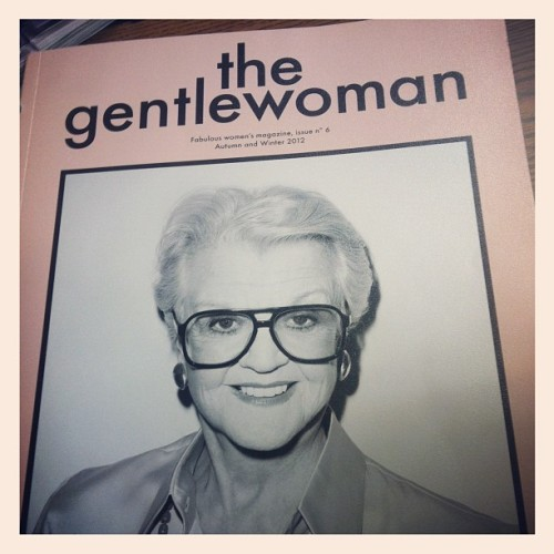 My latest favorite magazine- 'The Gentlewoman'. High quality of journalism and celebrates inspirational modern women of style and purpose. #editorial (at LIM College - Adrian G. Marcuse Library)