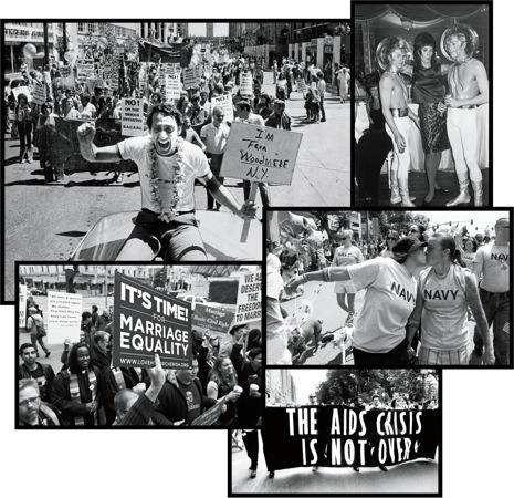 "From Harvey Milk to Prop 8, in this week's issue Alex Ross traces the history of the gay-rights movement, interlacing the movement's milestones with his own memories and experiences as a gay man in America. Ross writes, ""I am forty-four years old, and I have lived through a startling transformation in the status of gay men and women in the United States… Around the time I was born, homosexual acts were illegal in every state but Illinois. Lesbians and gays were barred from serving in the federal government. There were no openly gay politicians. A few closeted homosexuals occupied positions of power, but they tended to make things more miserable for their kind."" But, he writes, ""Today, gay people of a certain age may feel as though they had stepped out of a lavender time machine…. Gay rights have made such rapid progress that there is an urge to look back and assess what has happened.""  Continue reading Ross on the past and future of gay rights."