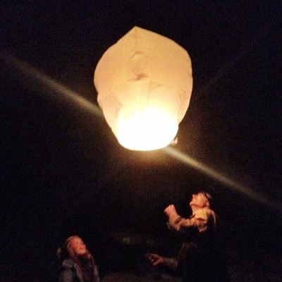 Bonfires were lit, effigies were burned, fireworks were shot and sky lanterns were launched. #guyfawkes