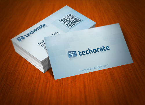 Techorate Logo / Business Card
