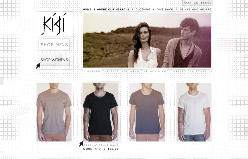 Kigi Website Concept