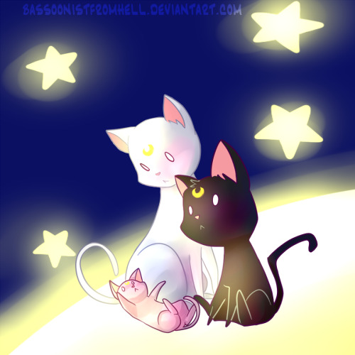 sailorsomething:  Tale of Three Kitties by =BassoonistfromHell