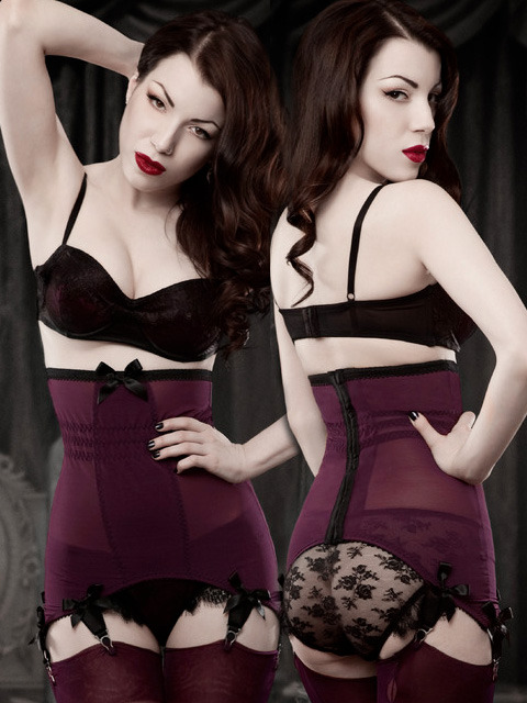 5 Pieces of Party Ready Shapewear for Full Busted Women (Shown: Kiss Me Deadly)