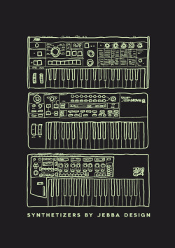 """Synthetizers"" by Jebba Design"