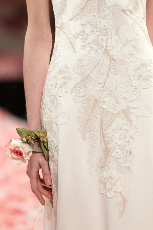 'Alma' wedding gown - Claire Pettibone 'An Earthly Paradise' Collection 2013 FASHION SHOW - Photography by Collective Edit