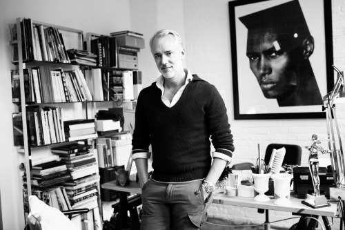 Michael Bastian is a menswear polymath, designing six separate fashion collections per year for GANT, his namesake label, and Michael Bastian for Barney's New York. The designer talks to Adrian Brinkley about the Internet's influence on men's fashion and the style differences between Americans and Swedes: Do you think that men's fashion is becoming more accessible? Hell, yeah. There is a huge shift now. I would say guys in their twenties, even late teens, are more aware than they've ever been because of the Internet and all the blogs. Everyone's game has to step up a little bit because these guys are serious. You've managed to acquire a pretty sizeable following online yourself… The Internet is really pushing us all along. If I'm saying something that [bloggers] are responding to, then I'm really proud because these guys move so fast, and before you know it they're on to the next thing.  Gant's headquarters are in Stockholm; you no doubt do a lot of traveling. Have you noticed a difference in the way Swedish and American men dress?  Well, Swedish men are a little more comfortable with mixing in tailored clothing. It's nothing for them to wear a blazer with jeans or with chinos or corduroys. They wear it like outerwear. The other thing is the way they wear it. Sweden is a social democracy, and they're not flashy at all. Even if they have a ton of money, they don't show it.  What are your style tips for fall?  I don't know about you, but it's a hassle to me to have on a shirt, a jacket, and an outerwear piece—there are too many layers. And if you're hopping in and out of cabs all day, it all starts to bunch up on you. I think you can get away with a good tweed blazer and treat it like outerwear. Then, in a weird way, your accessories become more important and you get to show a lot more personality by playing around with those. Read the rest in our Oct/Nov 2012 issue. Photographed by Eric T. White.