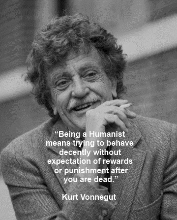 Kurt Vonnegut on humanism