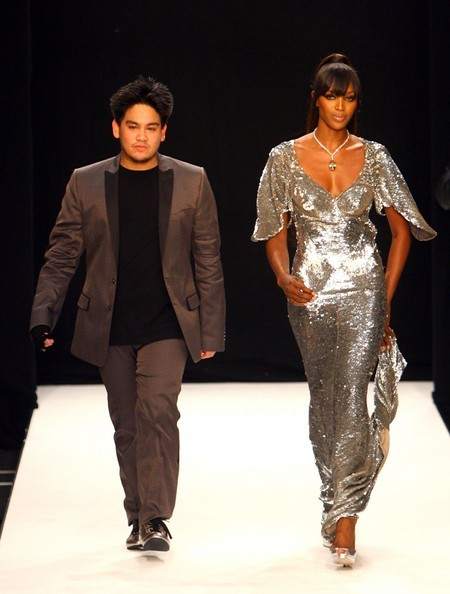 Prince Azim and Naomi Campbell for Fashion Relief