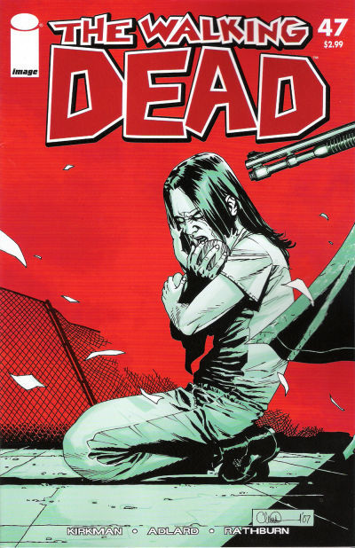 thewalkingdeadcomics:  Issue 47 -Cover    Well fuck, this is relevant.