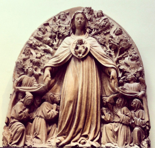An Italian Madonna of Mercy in the Victoria & Albert museum, London.