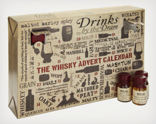 Whisky Advent Calendar (via Urban Outfitters)