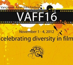 So honored to close the Vancouver Asian Film Festival last night! Thank you VAFF for a great Canadian premiere of White Frog!!