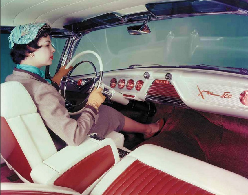 Mercury XM-800,1954 concept car