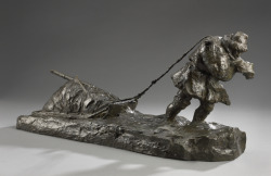 The Trapper, 1907Marc-Aurèle de Foy Suzor-Côté Canadian, 1869 - 1937BronzeOverall: 28.6 x 22.1 x 65 cmBequest of John Paris Bickell, Toronto, 1952© 2012 Art Gallery of Ontario