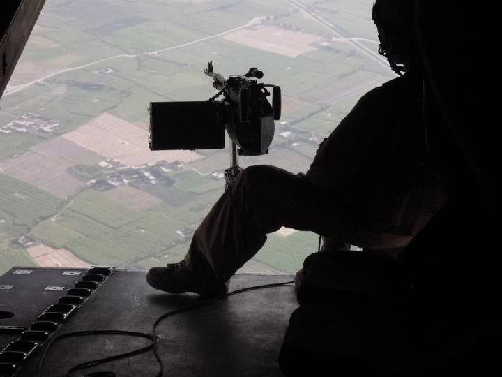 Out the bird over Afghanistan