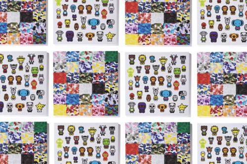Bape Releases Two New Canvas Prints – Shop Camo & Milo A-Z