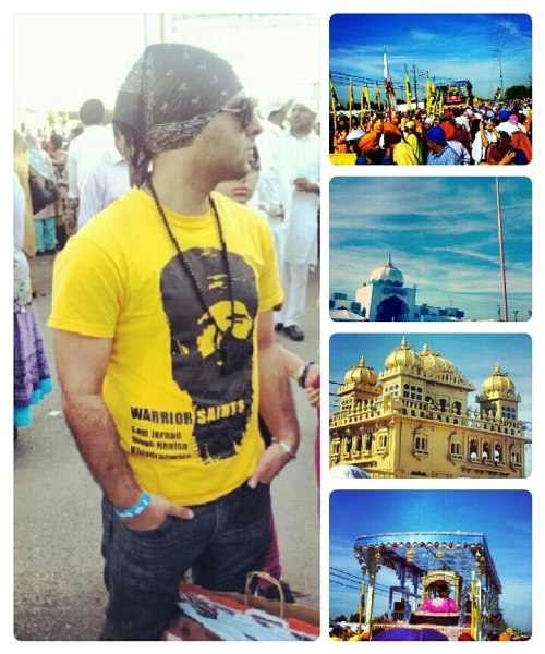 Yuba City's Sikh day prade absolutely made me feel like I was in punjab. Alot of sangat, a long wait for guru ke darshan, blissful kirtan, yummy food, huge indian market and a fun family time.