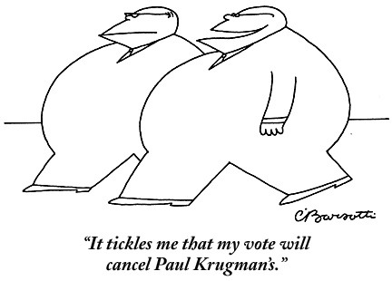 Laughing at the polls, a slideshow of cartoons.