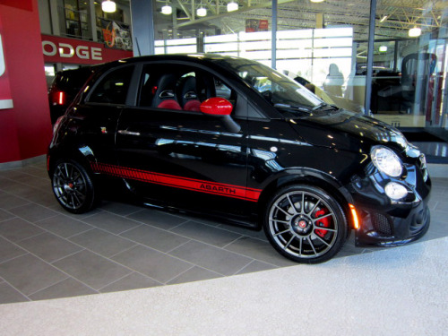 Do you have what it takes to tame this 2013 #FIAT 500 Abarth now available for purchase at Derrick FIAT in Edmonton, Alberta bellas?!  Drop by our brand new FIAT studio at 6211-104 Street in the Capital region….  it wants to put YOU to the test ;-D