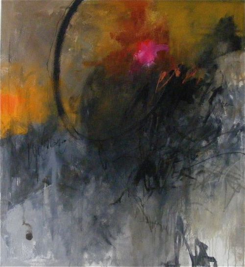 "artandloves:  ""Lush Life"", 40 x 37"", mm/c"