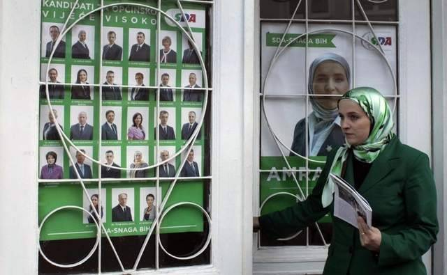 A hijab-clad Bosnian Muslim woman has been elected mayor of Visoko municipality in central Bosnia, making history as Europe's first veiled mayor.