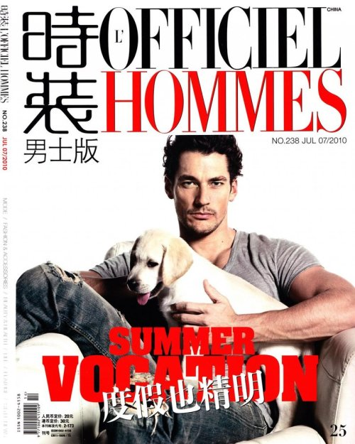 for L´Officiel Hommes China