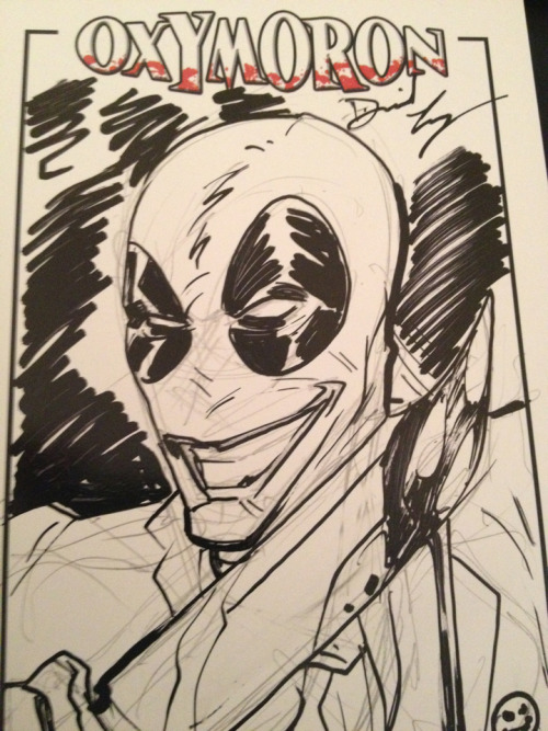 Dan Logan sketch #oxymoron2012