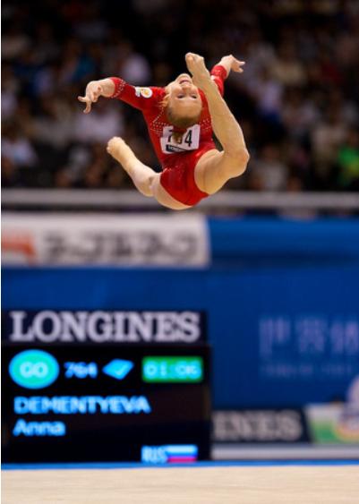 brian babcock gymnastics meet 2012