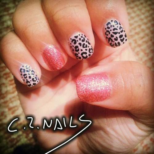 simple cute leopard print :)