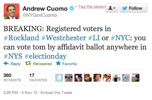 wnyc:  FYI, New York.  Still wondering where you can vote? Find out.