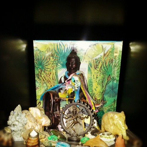 #psychedelic #altar #art #retinafunk #enviroment #sacred #collage #trippy #box #quad