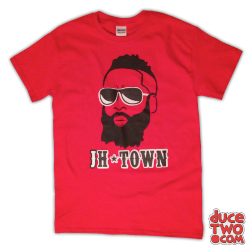 Our James Harden jH-Town shirt was featured on ESPN.com! Purchase the shirt at: www.duceTWO.com/beard