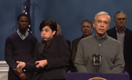 Is It Okay To Laugh At SNL's Most Viral Video This Week? In which we break down what was and wasn't funny about the SNL cold open mocking Michael Bloomberg and his ASL interpreter (and internet meme) Lydia Callis.