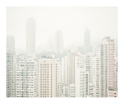 Causeway Bay, Hong Kong by photographer Lam Pok Yin via etched acrylics