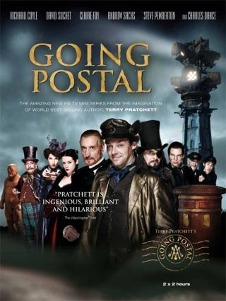"I am watching Going Postal                   "":) Richard Coyle""                                Check-in to               Going Postal on GetGlue.com"