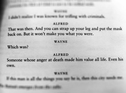 "themainbusb:  ""Someone whose anger at death made him value all life."""