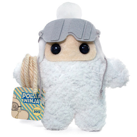 Ninja of the Month: Polar Ninja Shawnimals' Ninja of the Month series may be winding down, but that doesn't mean the quality of the designs or craftsmanship will suffer. Check out Polar Ninja as proof. He's bundled up to face the snow. And he'll rescue you from your skiing try gone awry with his rope accessory. Polar Ninja looks like he'd fit snugly inside a Tauntaun corpse. Or in your adoring arms. Whichever, really. Pick up Polar Ninja for $30 from Shawnimals.