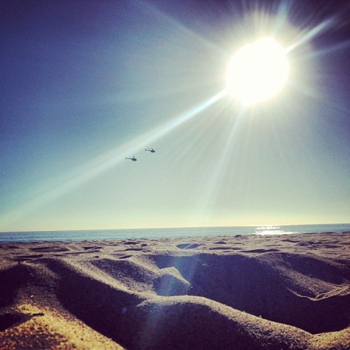 #chopper on the #beach